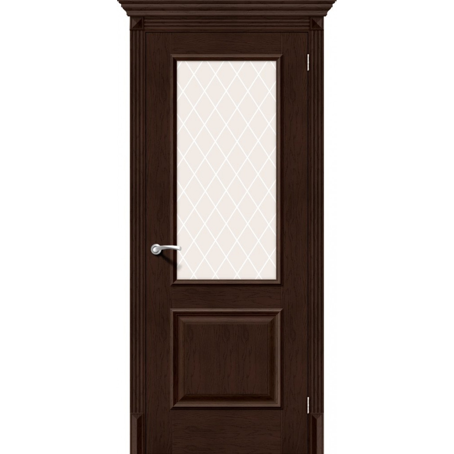 Классико-13 (new) Antique Oak White Crystal